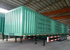 China Four Axle / Tri Axle Tractor Trailer , Semi Van Trailer 45 - 120 Tons Max Payload factory