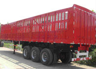 China SINOTRUK Tractor Trailer Truck 50 Ton Side Wall Cargo Semi Trailer OEM Optional factory