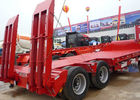 China CNHTC SINO Gooseneck Low Bed Trailer 40-100 Tons Rated Load ISO 9001 Certified factory
