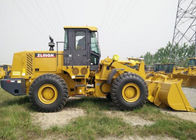 Yellow XCMG ZL50GN Wheel Loader 8225×3016×3515mm Dimension With SHANGCHAI  Engine