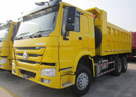 Low Energy Consumption 10 Wheel Dump Truck Euro 2 336HP Carrying 30 Tons Cargo