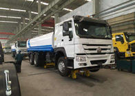 Euro 2 HOWO 6X4 Water Sprinkler Truck Permission Loading Capacity 25 Ton