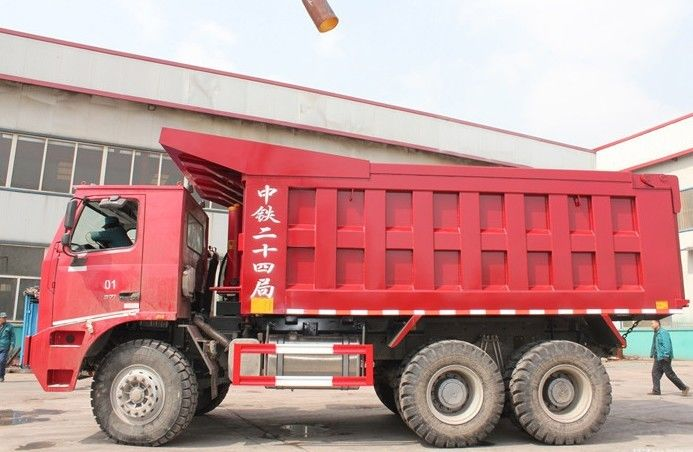 Customized Heavy Duty Dump Truck 10 Wheeler 70 Ton Dump Truck With 420 HP Engine