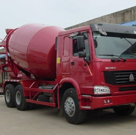 SINOTRUK Concrete Cement Mixer Truck , 10 Cubic Metre Truck ISO Approved