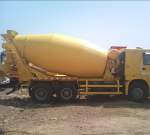China 6*4 12.00R20 Mobile Cement Mixer Trucks Diesel Fuel Type FOB CIF CFR factory
