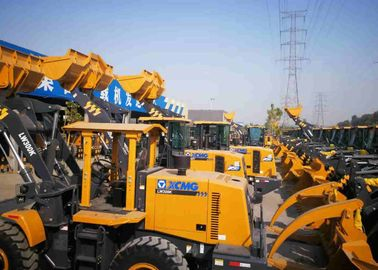 China Economic Compact Wheel Loader , 3 Ton Wheel Loader LW300KN For Road Construction factory
