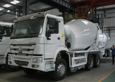 8-12m3 Concrete Mixer Truck 10 Wheeler HOWO Mixer Truck For Construction Area