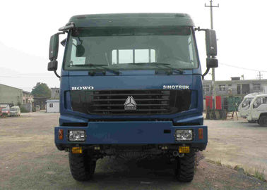 3 Axles Sinotruk Howo Cargo Truck ,  6x6 Cargo Truck With 20 Tons Loading