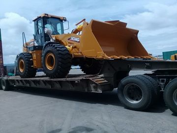 Professional XCMG Wheel Loader LW500FN Front Wheel Loader With Rock Bucket 3m3
