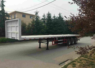 China Multi Function Container Trailer Truck 40 Feets Moveable Side Wall Semi Trailer factory