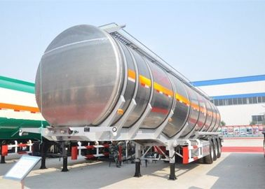 China Heavy Duty Oil Tanker Semi Trailer Three Axles 50000 Liters With Four Compartments factory