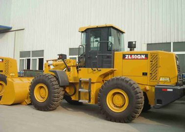 China High Efficiency XCMG ZL50G Wheel Loader Front Loader Type Fast Operation factory