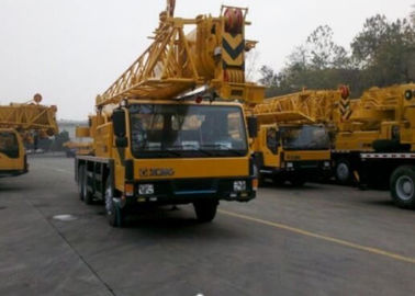 China Yellow Color XCMG Truck Crane QY25K-Ⅱ 50 Ton Truck Mounted Mobile Crane factory