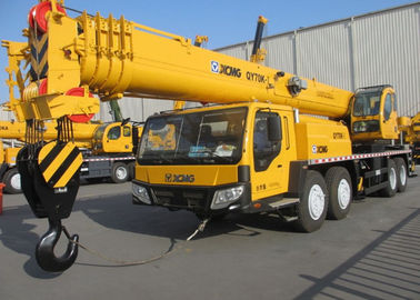 China QY70K-I XCMG Truck Crane / XCMG Mobile Crane Heavy Construction Machinery factory