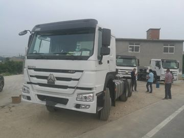 102km / H SINOTRUK HOWO 420HP Prime Mover Truck 6x4 10 Wheel Truck Head
