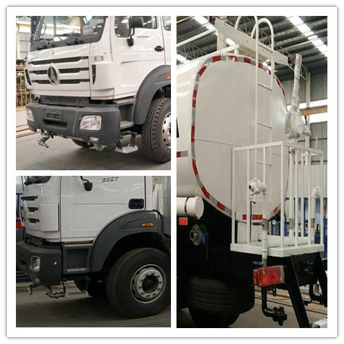 Multi Functional Water Transport Truck , 6x4 20000L Water Tank Truck With Sprinkler Pump