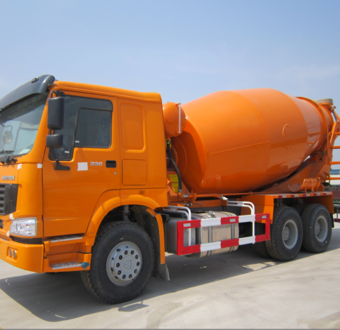6*4 12.00R20 Mobile Cement Mixer Trucks Diesel Fuel Type FOB CIF CFR